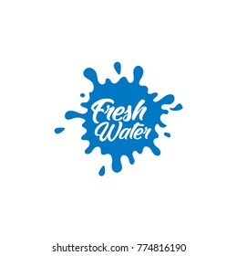 Water Logos, Label, Icons and Design Elements