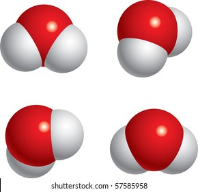 Water Molecules H2O