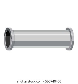 Water pipe icon. Cartoon illustration of water pipe vector icon for web design