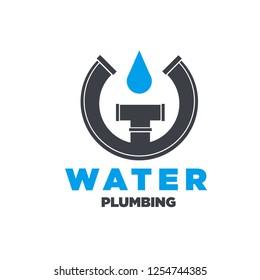 water plumbing logo designs