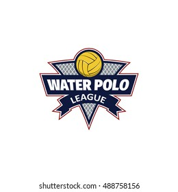 Water polo logo for the team and the cup