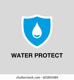 Water Protect Icon