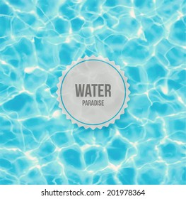 Water ripple background, eps 10