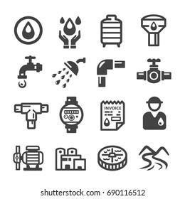 water supply,plumbing icon