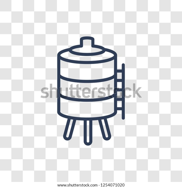 water tank icon trendy linear water stock vector royalty free 1254071020 https www shutterstock com image vector water tank icon trendy linear logo 1254071020
