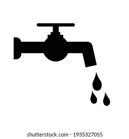 water tap icon vector illustration