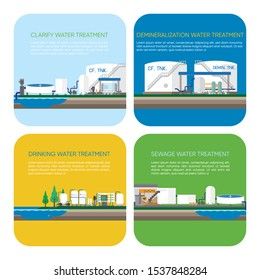 water treatment for drinking, use in the city , use in the industry and sewage plant