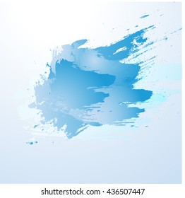 Watercolor background.Vector illustration.For your design