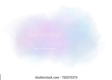 watercolor cloud background
