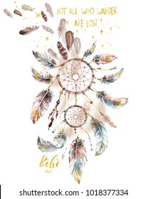Watercolor Feather print with glitter slogan print. Good idea for t print