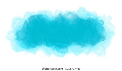 Watercolor graphic in vector quality.