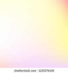 Watercolor multicolor gradient background. Colorful iridescent modern soft lights. Multicolor rainbow neon glow. Blur trend holography wallpaper. Fluid gradient art. For banner, poster or web design.