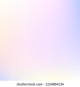 Watercolor pastel blue, pink, white, yellow multicolor gradient background. Colorful iridescent modern soft lights. Multicolor rainbow neon glow. Blur trend holography wallpaper. Fluid gradient art.