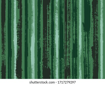 Watercolor strips seamless vector background. Striped tablecloth textile print. Paintbrush artistic lines fabric seamless print. Ornament sample design for sailor suit.