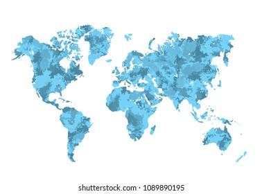 Russia Alaska Map Images Stock Photos Vectors Shutterstock