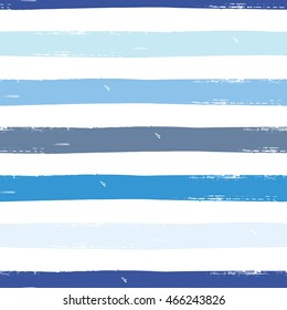 Watercolor vector seamless pattern with stripes. Dye striped background. Allover striped background for wallpapers and clothing.