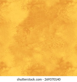 Watercolor yellow sand rough background texture closeup. Top view