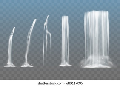 Элементы водопада