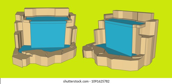 Waterfall Model, Vector