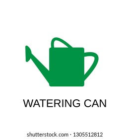Watering can icon. Watering can concept symbol design. Stock - Vector illustration can be used for web