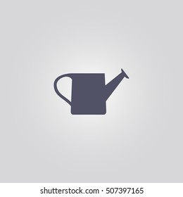 Watering can icon. icon design