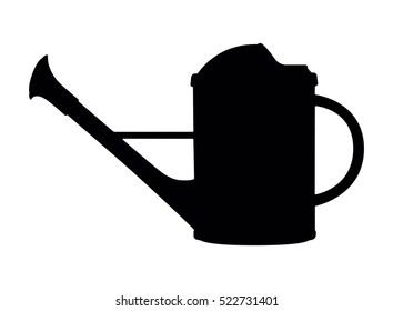 watering can, vector illustration
