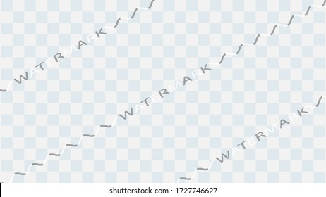 The watermark text pattern isolated use as watermark on the media art work. ( vector )