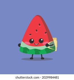 watermelon, back to school, always excited to go to school
