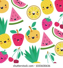 watermelon fresh fruit slice with leafs pattern
