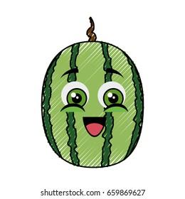 watermelon funny cartoon