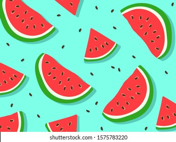 watermelon pattern for background EPS 10
