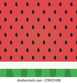 watermelon pattern design.vector illustration