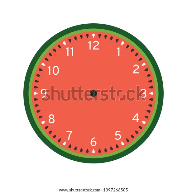 This is a photo of Printable Clock Template in educational