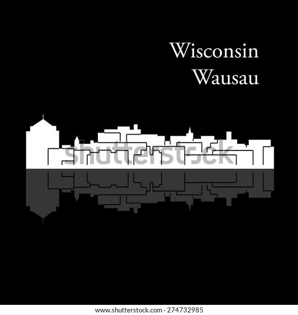 Wausau Wisconsin Stock Vector (Royalty Free) 274732985