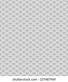 Wave endless seamless pattern.  Can be used for wallpaper, pattern fills, web page background and surface textures