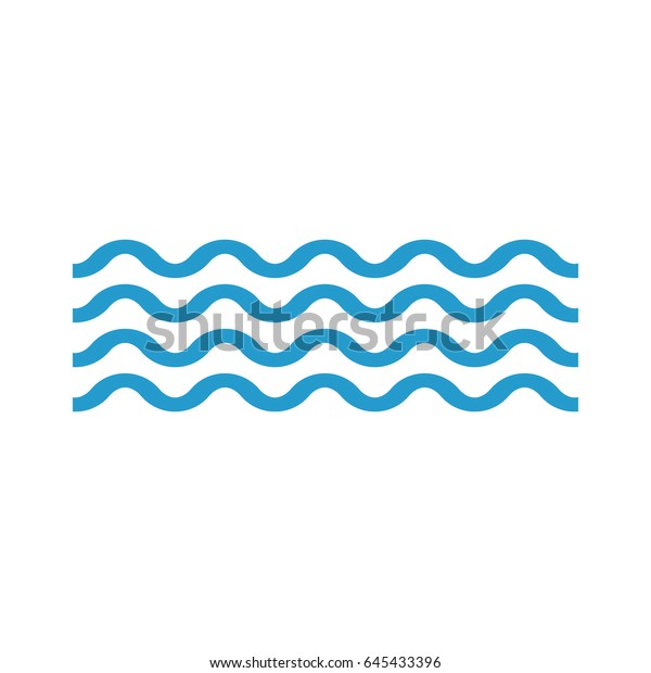 Wave Icon Flat Stylewavy Lines Stock Vector Royalty Free 645433396 Wave free icons and premium icon packs. https www shutterstock com image vector wave icon flat stylewavy lines 645433396