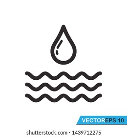 wave icon vector design illustration