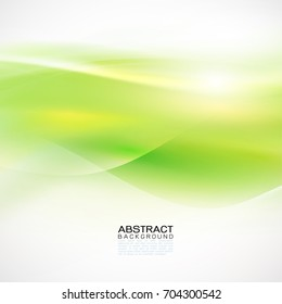 Wave and line abstract background. Bright curvy and wavy stripes for printing, app cover, online presentation website element.