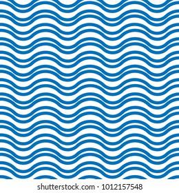 Wave line pattern vector design for wallpaper, textile, background