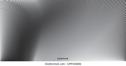 Wave Lines Pattern Abstract Background - simple texture for your design. Abstract line background, Eps10 vector