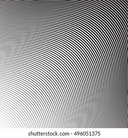 Wave Oblique Smooth Lines Pattern in Vector