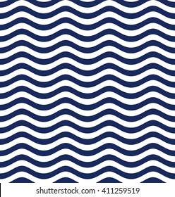 Wave pattern. Vector illustration.