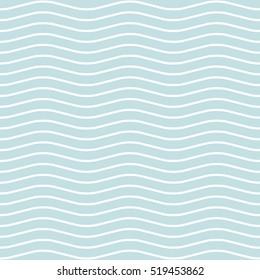 Wave Seamless Pattern.