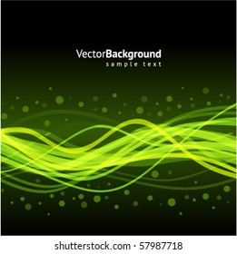 Waveform vector background