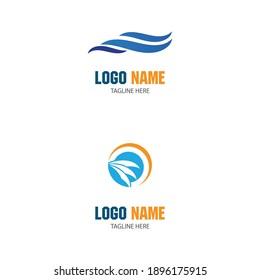 Waves Logo Template vector symbol nature