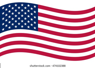 veterans day usa waving american flag stock vector 441841573 rh shutterstock com waving american flag vector image waving american flag vector file