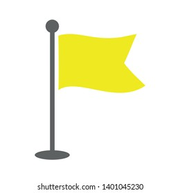 Waving flag vector icon. filled flat sign for mobile concept and web design. Abstract flag simple solid icon. Symbol, logo illustration. Pixel perfect vector graphics