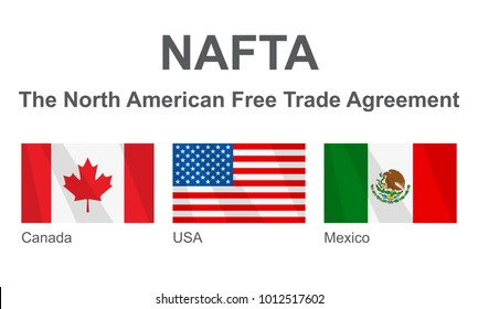 North American Free Trade Agreement Images Stock Photos Vectors