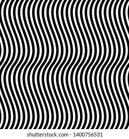 Waving, wavy vertical lines pattern / texture, Simple geometric element with billowy lines
