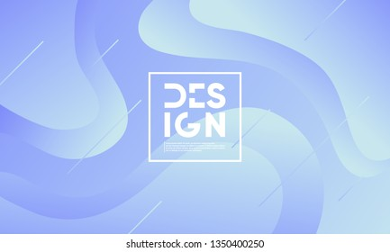 Wavy 3d geometric background. Eps10 vector